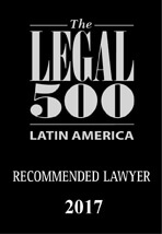 Legal 500 Latin America Recommended Lawyer
